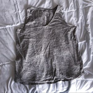 Heather gray tank from Old Navy